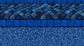 BLUE BALI INGROUND VINYL LINER