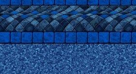 BLUE BALI INGROUND VINYL LINER