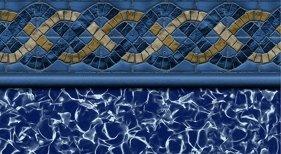 BLUE HAMPTON INGROUND VINYL LINER
