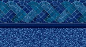 BLUE RALEIGH INGROUND VINYL LINER