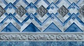 Blue Neptune Tile White Avelino Floor