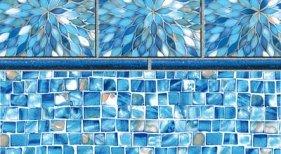 Sunburst Tile with Oyster Bay Floor