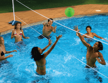 Pool Volleyball